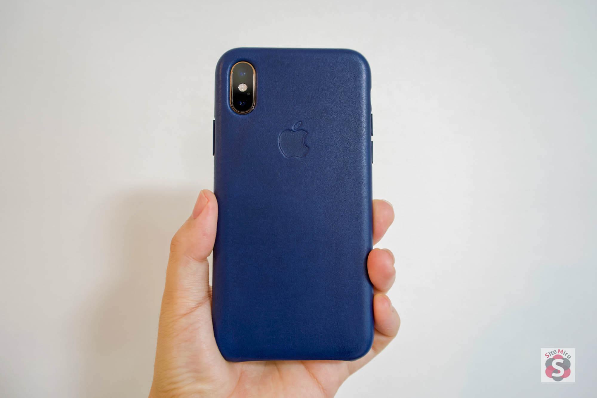 新型『iPhone XS』と『純正レザーケース』を購入レビューまとめ