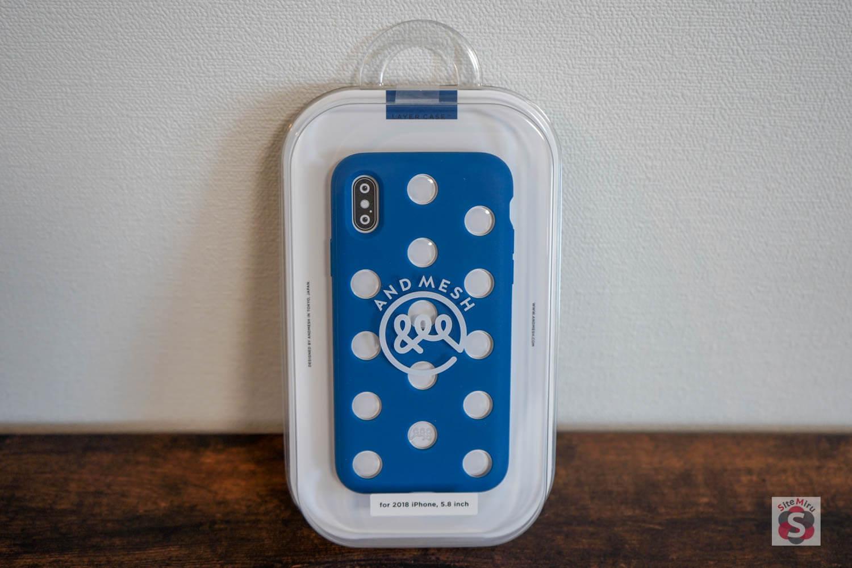 ドットデザインが印象的な『AndMesh iPhone XS / X ケース Layer Case』