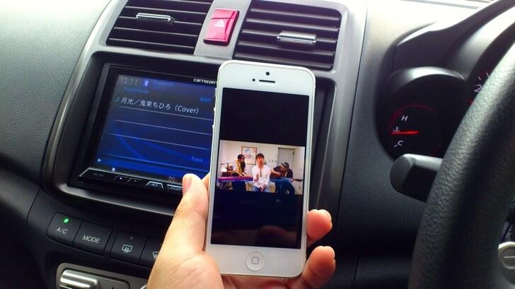BluetoothでMyTubeも再生できる