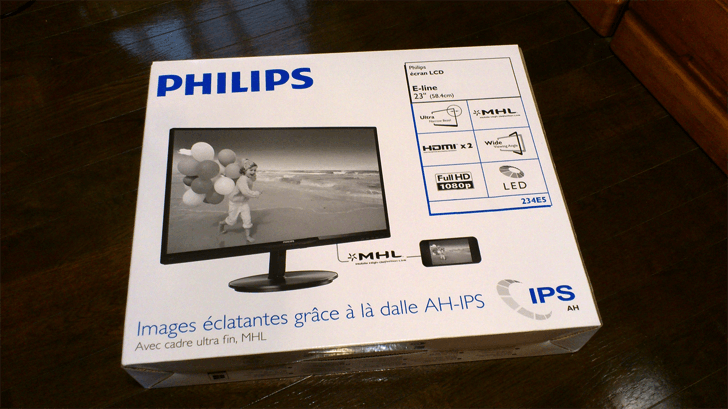 PHILIPS23型モニター