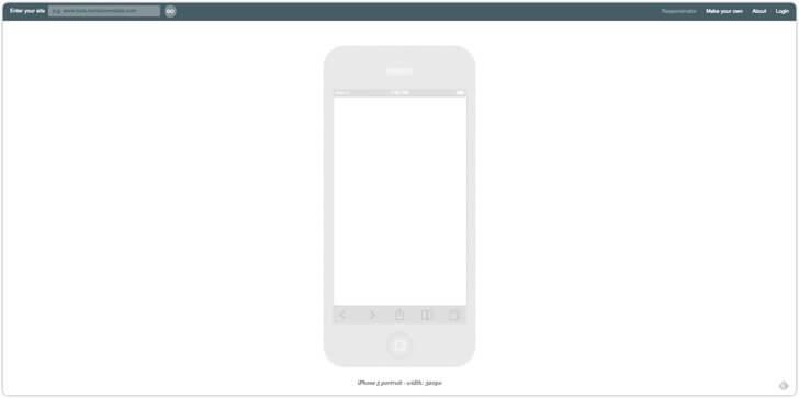 iPhone6/6 Plus対応が素敵!『Responsinator』