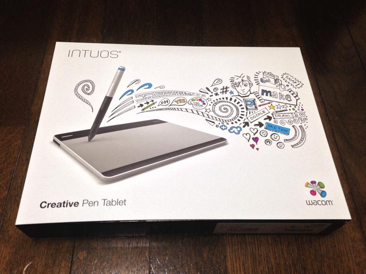 LINEスタンプ作りたい!ペンタブ『wacom Intuos Pen Sサイズ CTL-480/S0』買ってみた!